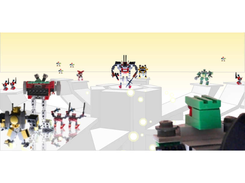 LEGO Mini-Robots Screensaver