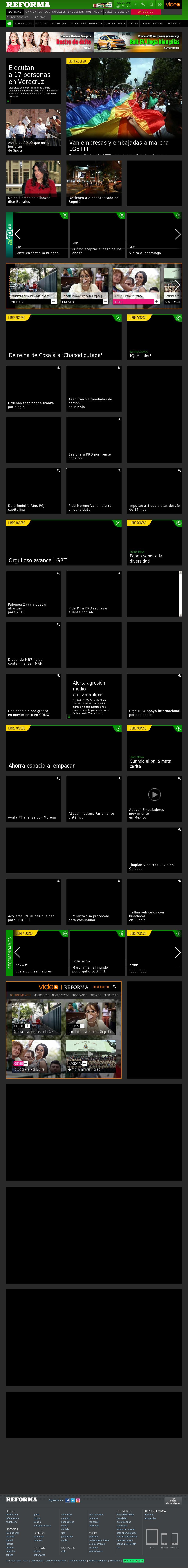 Reforma.com at Sunday June 25, 2017, 4:14 a.m. UTC