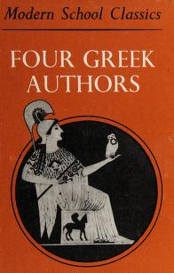 Cover of: Four Greek authors   E. C. Kennedy