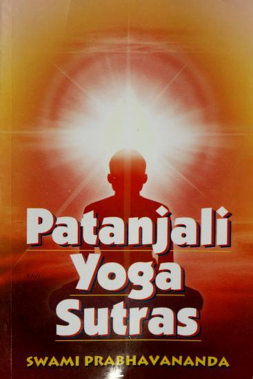 Patanjali Yoga Sutras by Swami Prabhavananda