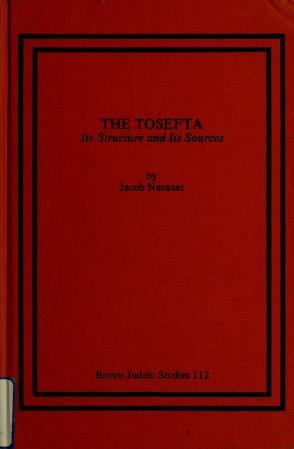 Cover of: The Tosefta | Jacob Neusner