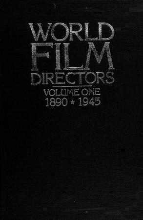 Cover of: World film directors | editor, John Wakeman.