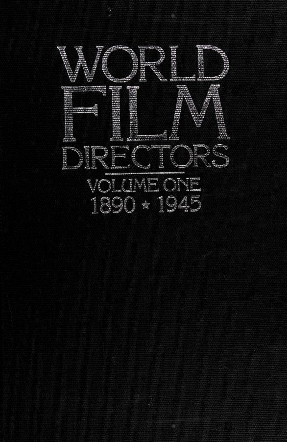 World film directors by editor, John Wakeman.